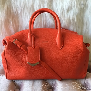 NEW BALENCIAGA Ddxon Veau Gros Grain Rouge Shoulder Bag