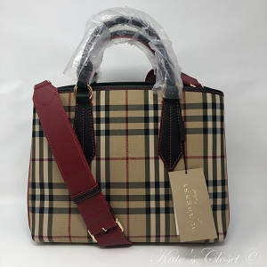 NEW BURBERRY MD Ballingdon Tote/Shoulder Bag